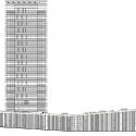Headquarters Caja de Badajoz / Studio Lamela Architects Elevation