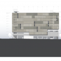 UCSF Mission Bay Parking Structure / WRNS Studio Elevation