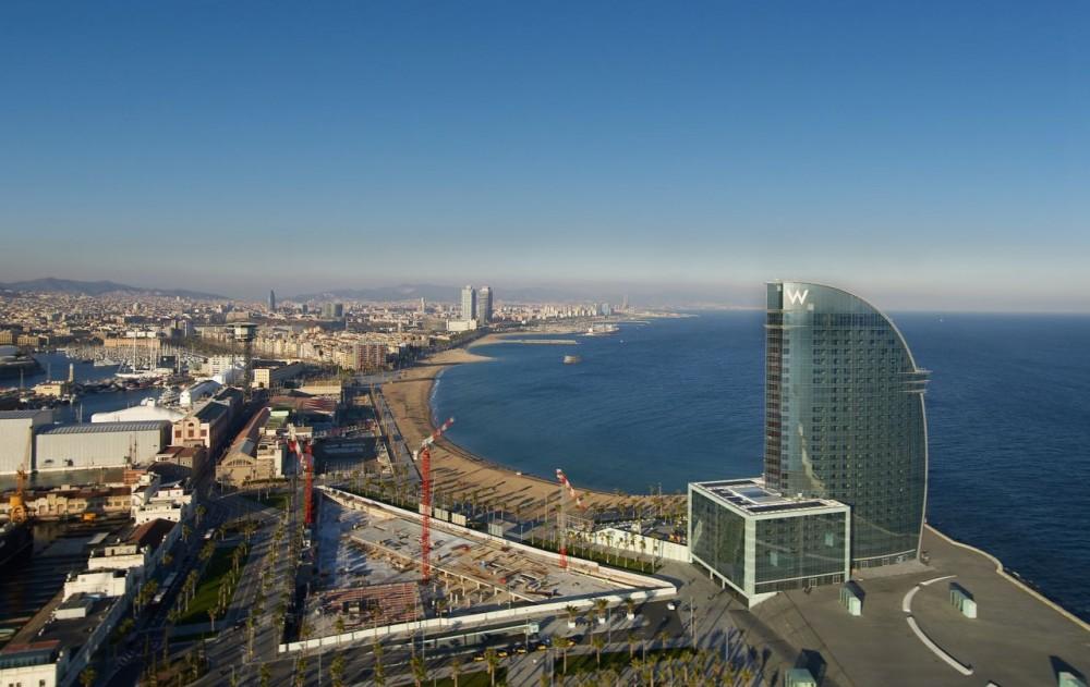 Barcelona Hotel Ricardo Bofill W Barcelona