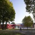 Salmtal Secondary School Canteen / SpreierTrenner Architekten Courtesy of Guido Erbring Architekturfotografie