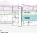 In Progress: Campbell Sports Center / Steven Holl Architects diagram