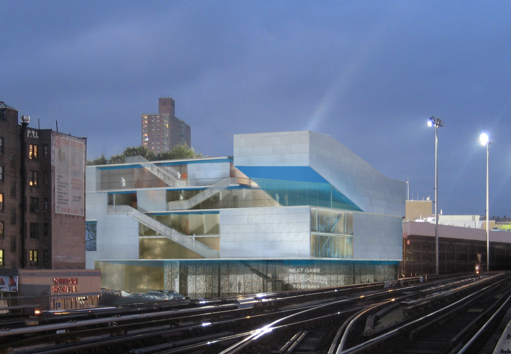 In Progress: Campbell Sports Center / Steven Holl Architects