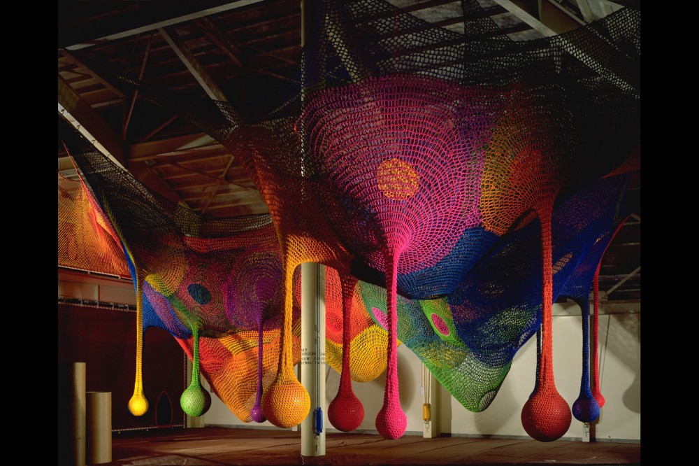Meet the Artist Behind Those Amazing, Hand-Knitted Playgrounds