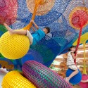 Meet the Artist Behind Those Amazing, Hand-Knitted Playgrounds Wonder Space II, by Toshiko Horiuchi MacAdam and Interplay, at Hakone Open Air Museum. Photo © Masaki Koizumi.