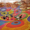 Meet the Artist Behind Those Amazing, Hand-Knitted Playgrounds Wonder Space II, by Toshiko Horiuchi MacAdam and Interplay, at Hakone Open Air Museum. Photo © Masaki Koizumi