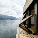 Boat's House at Millstätter Lake / MHM architects © Paul Ott photografiert