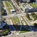 Klyde Warren Park / The Office of James Burnett © Aerial Photography, Inc