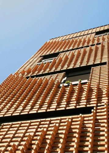 Brick Pattern House / Alireza Mashhadmirza Courtesy of Alireza Mashhadmirza