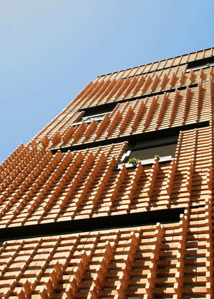 Brick Pattern House / Alireza Mashhadmirza