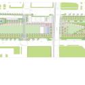 Klyde Warren Park / The Office of James Burnett Site Plan