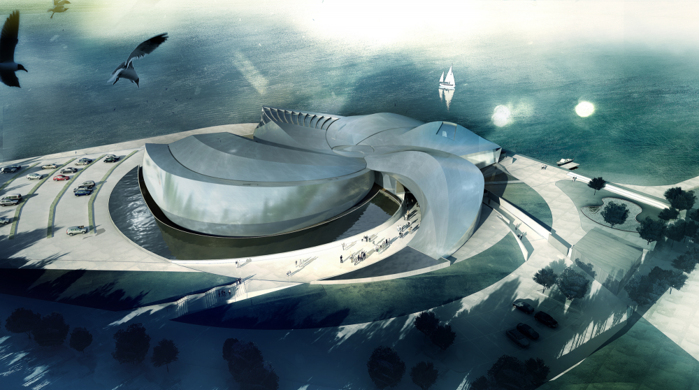 In Progress: The Blue Planet / 3XN