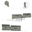 House for 6 Families / L3P Architects Elevations