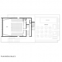 Etoile Lilas Cinema / Hardel et Le Bihan Architectes Third Floor Plan