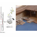 The Lanxi Curtilage / Archi Union Architects Central Courtyard Diagram