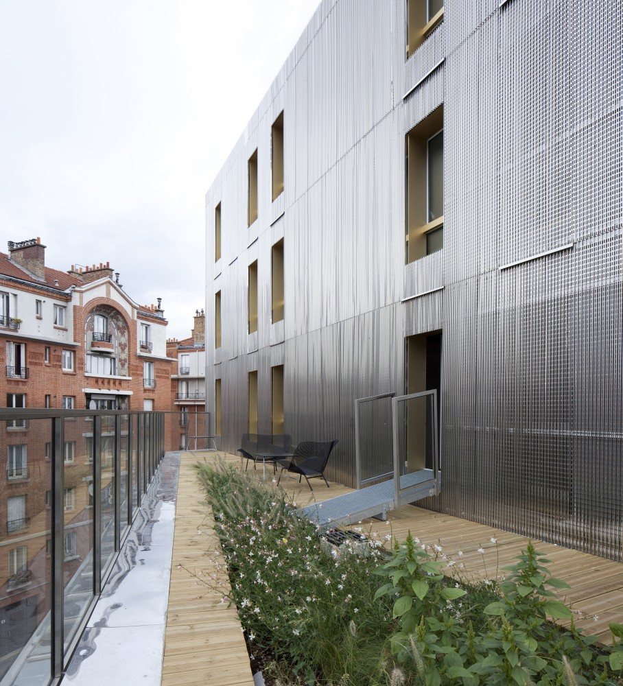 Irene Joliot Curie Residences / BE Hauvette + DATA [Architectes]