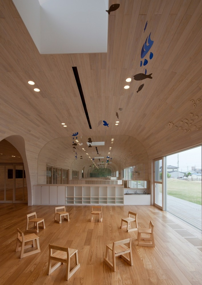 Leimond-Shonaka Nursery School / Archivision Hirotani Studio