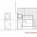 Loft Andrés Borrego / Beriot, Bernardini Arquitectos Cross Section