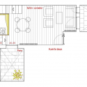 Loft Andrs Borrego / Beriot, Bernardini Arquitectos Ground Floor Plan