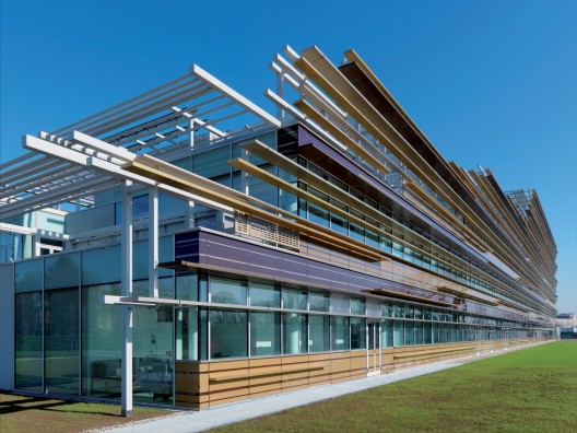 3m italia headquarters mario cucinella architects for Design render milano