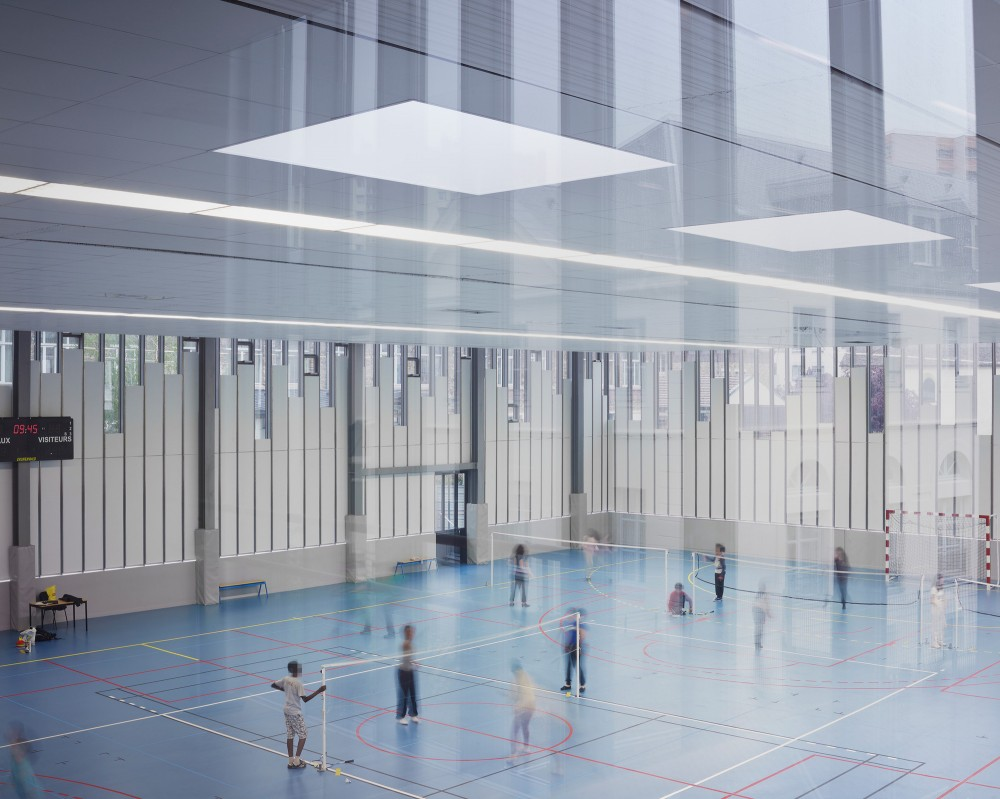 Gymnasium and Town Hall Esplanade / LAN Architecture