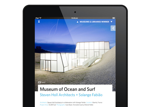 "The ArchDaily ""Building of the Year"" App Has Launched!"