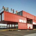 Puma City Shipping Container Store by LOT-EK  © Danny Bright Puma City Shipping Container Store  © Danny Bright