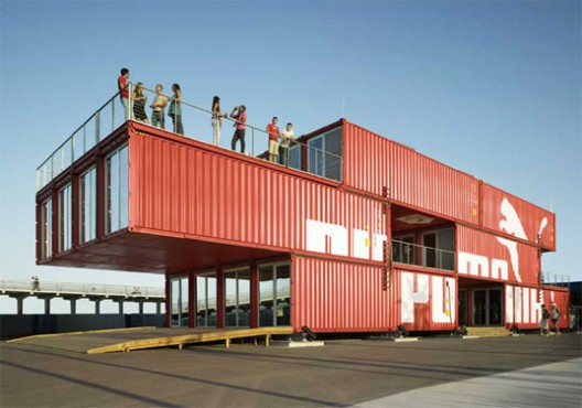 Nyc plans on designer shipping containers for next disaster archdaily - Container store home ...