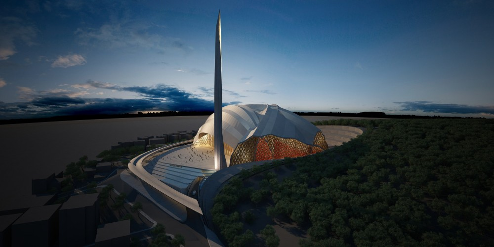 Istanbul Camlica Mosque Second Prize Winning Proposal / SN Architects