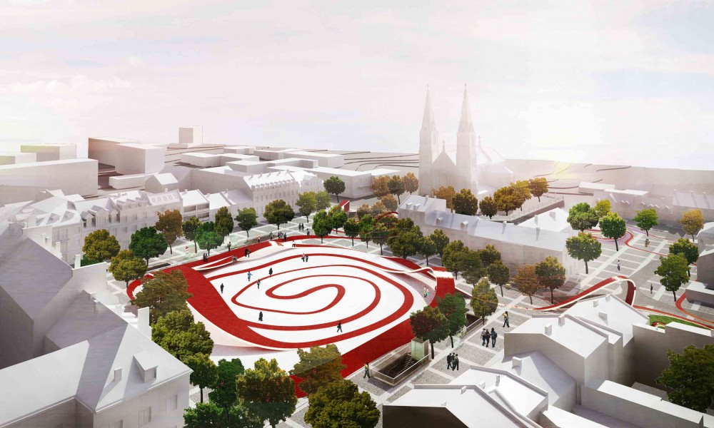 Freedom Square And Zdunski Market Place Second Prize Winning Proposal / Mado Architekci