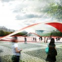 Freedom Square And Zdunski Market Place Second Prize Winning Proposal (5) © Mado Architekci + Marcin Gierbienis