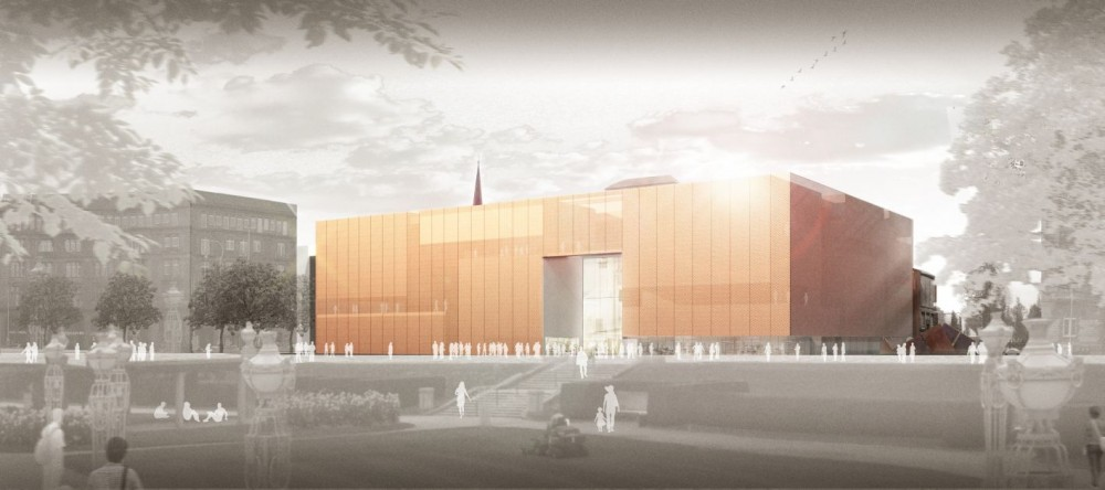 Kunsthalle Mannheim Winning Proposal / gmp Architekten