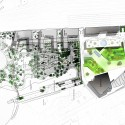 Helsinki Central Library Competition Entry (5) site plan