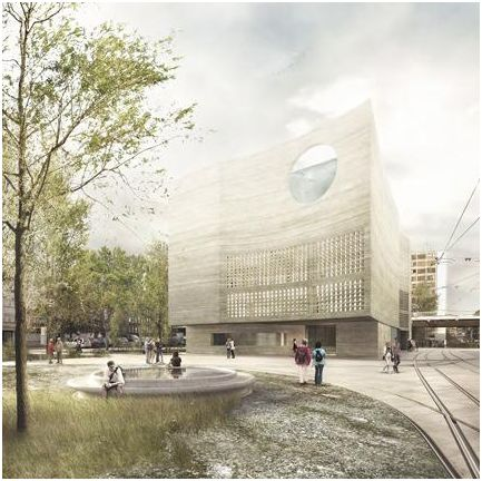 Boltshauser Architekten Wins Competition To Design Basel Aquarium