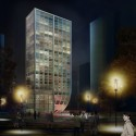 Tianjin Hotel Proposal (2) Courtesy of HAO (Holm Architecture Office)