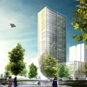 Tianjin Hotel Proposal (1) Courtesy of HAO (Holm Architecture Office)