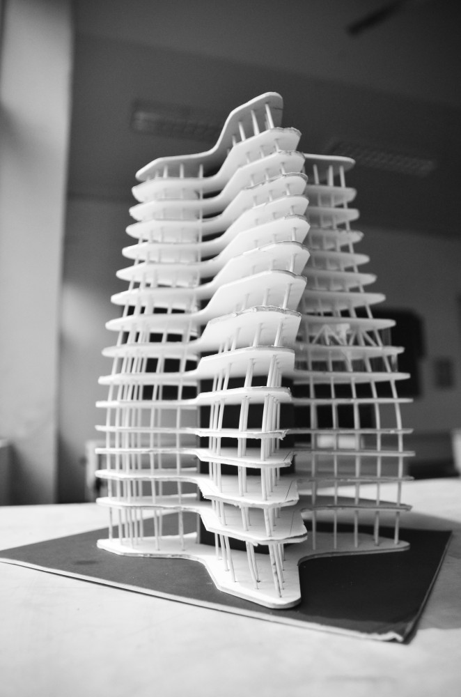 Wuhan Marine Science and Research Tower Proposal / ACID + AaL + Studio méta-