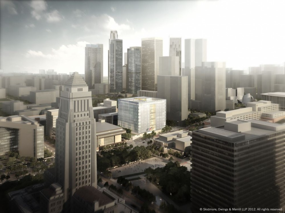 SOM Wins Bid to Design Los Angeles Federal Courthouse
