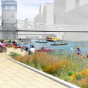 Chicago Riverwalk Proposal (4) Courtesy of Sasaki Associates
