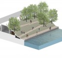 Chicago Riverwalk Proposal (11) Courtesy of Sasaki Associates + Ross Barney Architects