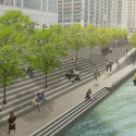 Chicago Riverwalk Proposal (6) Courtesy of  Ross Barney Architects