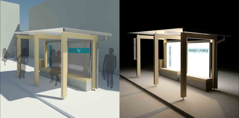 Winning Proposal for Bus Shelter Challenge: AdaptbyMany / Milos Todorovic