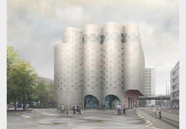 UPDATE: Boltshauser Architekten Wins Competition To Design Basel Aquarium