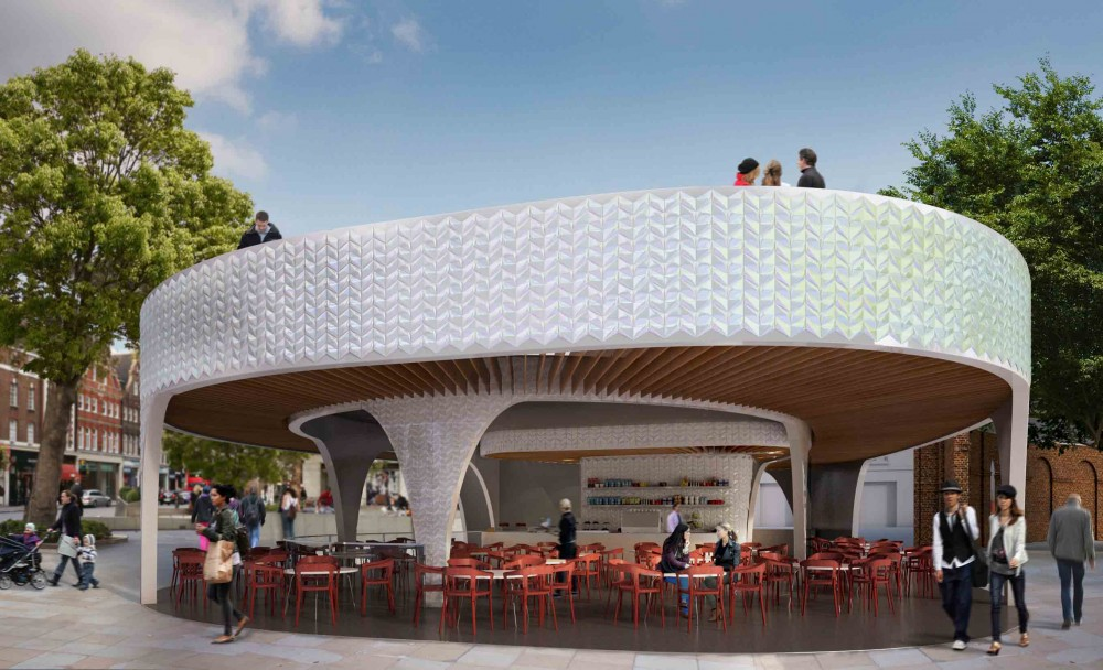 Cadogan Café Winning Proposal / NEX
