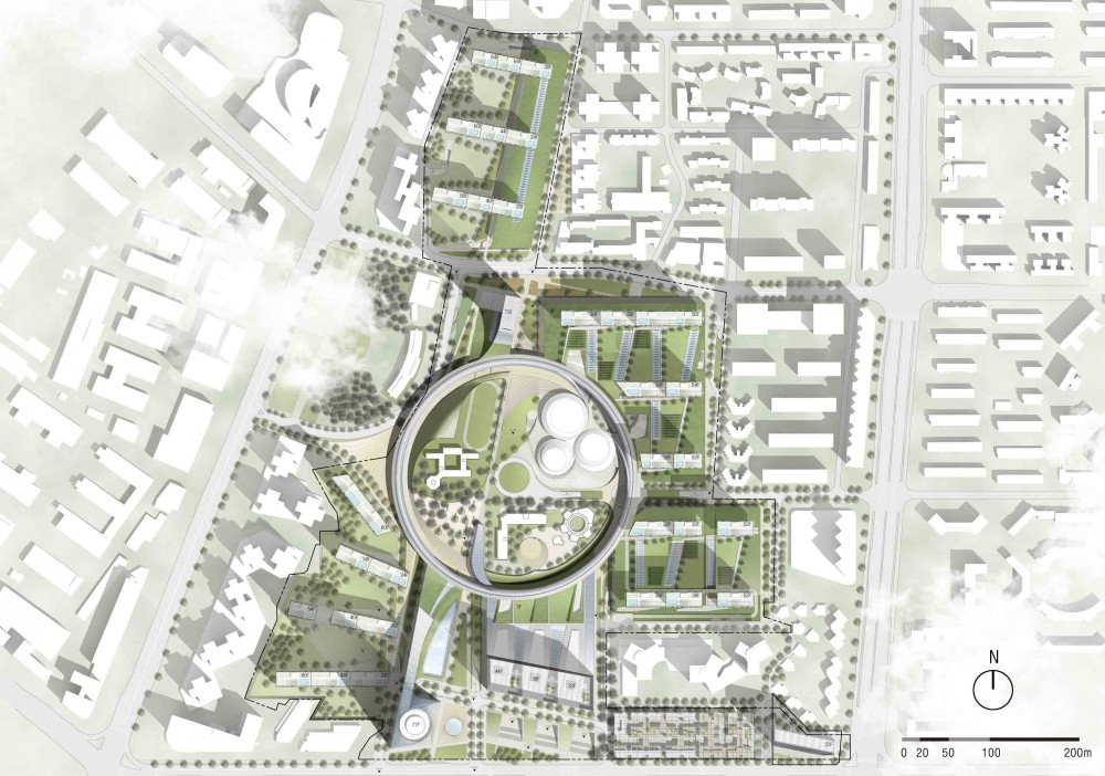 Architecture Photography Hanking Nanyou Newtown Urban Planning Design Proposal 7 309420