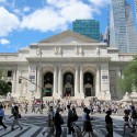Foster's Design for the New York Public Library Unveiled The New York Public Library's (NYPL) main building on Fifth Avenue, is a Beaux-Arts masterpiece designed by architects Carrère & Hastings. Image via Flickr User CC wallyg.