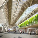 New Vision for Frankfurt Airports Terminal 1 Forecourt (3) Courtesy of Grimshaw Architects