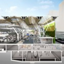 New Vision for Frankfurt Airports Terminal 1 Forecourt (5) section