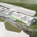 New Vision for Frankfurt Airports Terminal 1 Forecourt (1) Courtesy of Grimshaw Architects
