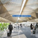 New Vision for Frankfurt Airports Terminal 1 Forecourt (4) Courtesy of Grimshaw Architects