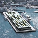 Think Space Programme: Past Forward Competition Results (7) Yokohama Port Terminal Competition - honorable mention - 'Yokohama Competition' by Jakša Kalajžić